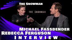THE SNOWMAN - MICHAEL FASSBENDER & REBECCA FERGUSON INTERVIEW