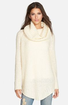 DREAMERS BY DEBUT Cowl Neck Sweater (Juniors) available at #Nordstrom
