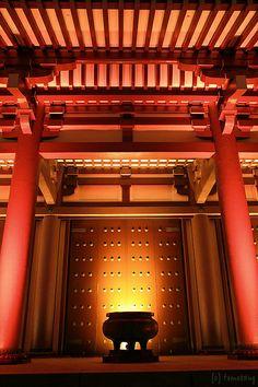 Hakata Light Up Walk - Toucho-ji temple, Fukuoka-city, Japan