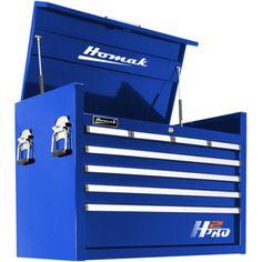 "Homak 36"" H2Pro Series 8 Drawer Tool Chest"