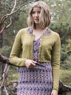 Stickad damkofta Novita Venla | Novita knits