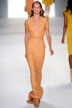 LOVE this COLOR! Elie Saab spring 2012 ready-to-wear.