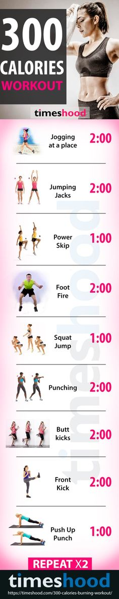 Burning 300 calories in 30 minutes can be bit challenging, but possible. Try this 300 calories burning workout plan for women that help you to burn more calories in less time. These powerful weight lose exercise, work effectively on your belly, stomach, and thighs to makes you look slim and sexy.