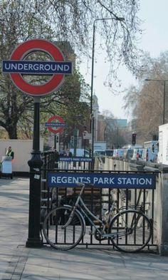 Entrance to Regent's Park Station.