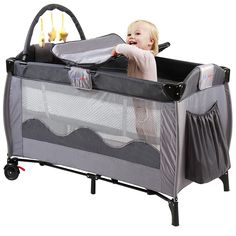 Baby travel beds are very helpful for travel. Let's see which is the best travel crib for your baby. Baby Travel Bed, Traveling With Baby, Bassinet, Your Child, Cribs, Children, Home, Cots, Young Children