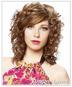 Image result for Naturally Curly Layered Hairstyles