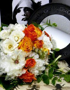 Tangerine Dream Bridal Bouquet – BRIARWOOD