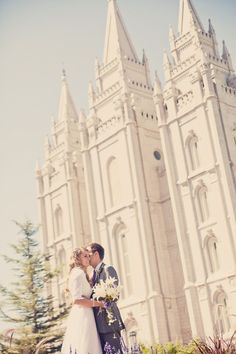 My wedding will be at the temple! One and only, for time and all eternity.