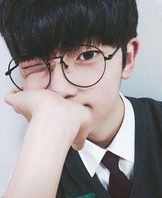 Ulzzang boy glasses Korean Fashion