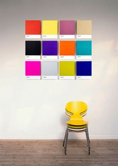 Show your love for print by putting a giant Pantone swatch on your wall - News - Digital Arts