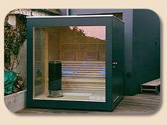 Gartensauna Cube/Cubus Design Zurück zur Bildergalerie => KLICK