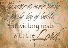Proverbs 21:31