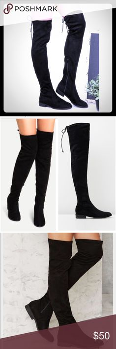 Unisa careana over the knee boots boots Received them as a Christmas gift but they are not my style size 8.5 new in box, ship same day or next Unisa Shoes Over the Knee Boots