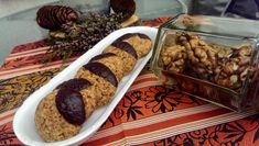Diós zabpelyhes keksz Recept képpel - Mindmegette.hu - Receptek Biscotti, Cookie Recipes, Bacon, Beef, Cookies, Ethnic Recipes, Food, Diets, Projects