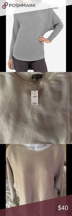 Spotted while shopping on Poshmark: The Limited Hi-Lo Ribbed Knit Top, XL, NWT! #poshmark #fashion #shopping #style #The Limited #Tops