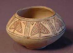 Example of the amazing pottery made in Harappa. They were very skilled at crafting their own works of art.