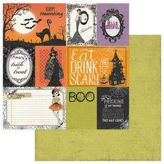Photoplay - Bootiful - 12 x 12 Cards Scrapbook Paper