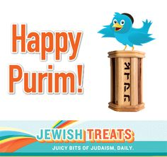 The Four Mitzvot of Purim Happy Purim, The Four, Judaism, Treats, Bird, Gifts, Sweet Like Candy, Goodies, Presents