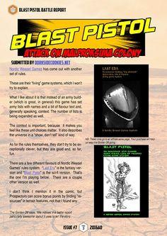 Dorkside Cookies Blast Pistol battle report  #thegoldend6 Issue Seven