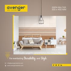 """""""For everlasting durability and style. Ad Design, Layout Design, House Design, Real Estate Templates, Folder Design, Indian Homes, Ads Creative, Style Tile, Digital Wall"""