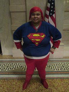 Ruby Bradford (SuperRuby) With U.S Flag