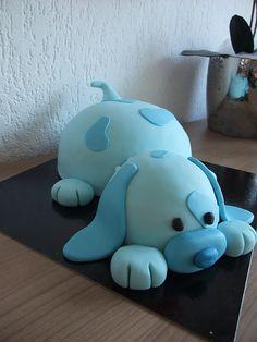 Adorable Puppy Cake ! Yum ! :*