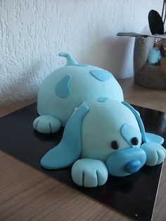 Adorable Puppy Cake ! Yum ! :*