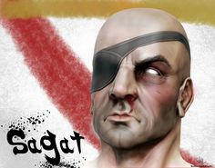 sagat by murtazasaeed.deviantart.com on @DeviantArt