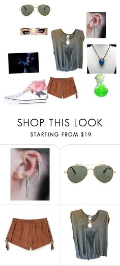 """""""Untitled #818"""" by girlwithnoluck on Polyvore featuring Givenchy, Rebecca Minkoff, Haute Hippie and Converse"""