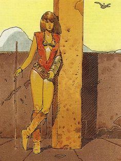 Moebius - Collector Cards (1992) - Lady Malvina