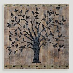 Family room or Foyer   Love this!!!!   One of my favorite discoveries at WorldMarket.com: Tree of Life Wall Decor