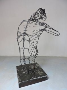 Original Men Sculpture by Michele Rizzi Iron Steel, Steel Metal, Steel Paint, Paint Metal, Archaeological Finds, Steel Sculpture, Steel Material, Metallic Paint, Buy Art