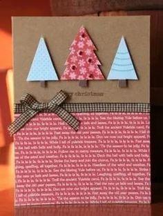 Ideas diy christmas cards handmade gift tags for 2019 Homemade Christmas Cards, Christmas Cards To Make, Homemade Cards, Christmas Diy, Christmas Trees, Merry Christmas, Christmas Music, Christmas 2019, Cricut Christmas Cards