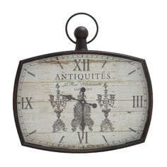 Found it at Wayfair - Kin-Kin Artistic Decor Wall Clock