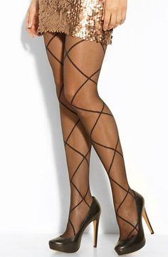 Pretty Polly Sheer Diamond Pantyhose #nordstrom