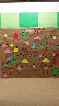 44 Awesome Halloween Craft Ideas for Kids Kindergarten Art Lessons, Art Lessons Elementary, Art For Kids, Crafts For Kids, Paul Klee, Math Art, Collaborative Art, Art Plastique, Reggio