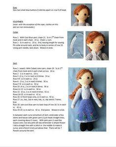 Receitas Bonecas Amigurumi - em Português - algumas ilustrativas - YouTube | 299x236