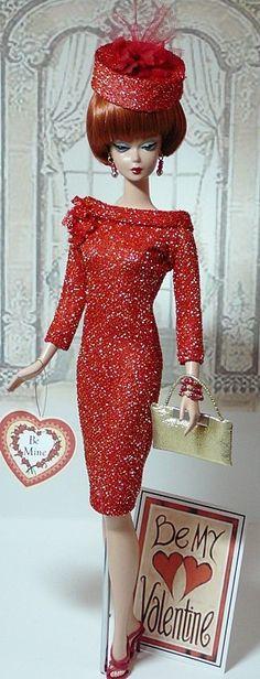 vintage barbie - be my valentine