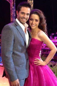 Ariadne Diaz y Jose Ron