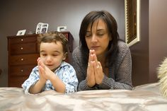 Why we need to teach our children to pray
