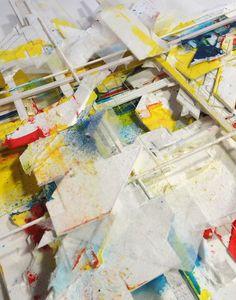 "Boris Tellegen, aka Delta — Exhibition ""Current"" at Backslash Gallery Paris, 2015"