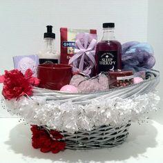 Luxury Spa Gift Basket. http://www.bonanza.com/booths/pat21