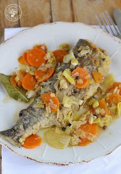 Cocinando entre Olivos: Truchas en escabeche. Receta paso a paso
