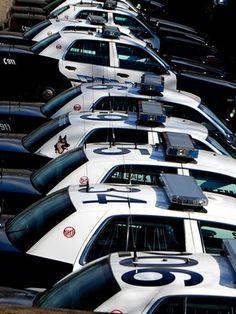 Salem Police fleet - Ford Crown Vic Police Interceptors