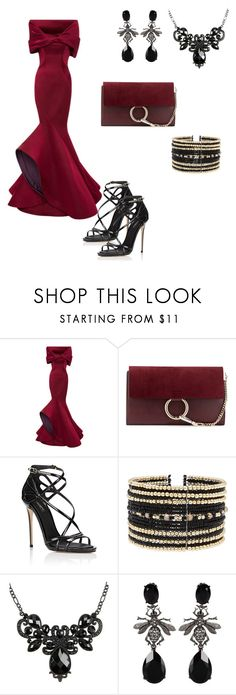 """""""Untitled#14"""" by almamehmedovic-79 ❤ liked on Polyvore featuring Monique Lhuillier, Chloé, Dolce&Gabbana, Eloquii and Oscar de la Renta"""