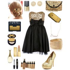 """Prom outfit"" by libbygw on Polyvore"