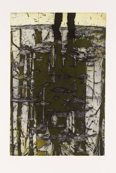 Peter Doig 'Reflection (What Does Your Soul Look Like?)', 1997, etching on paper © Peter Doig