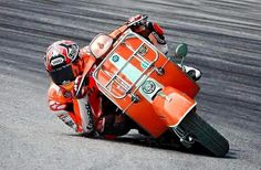 Dragging Pegs on a Vespa