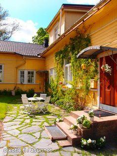 Myynnissä - Omakotitalo, Nummi, Turku: Paaskunnan tilan historiallinen pihapiiri rakennuksineen -  #terassi #puutarha #piha #oikotieasunnot