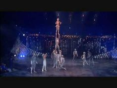 Cirque Du Soleil. stunt. balance. crazy great moves in here!